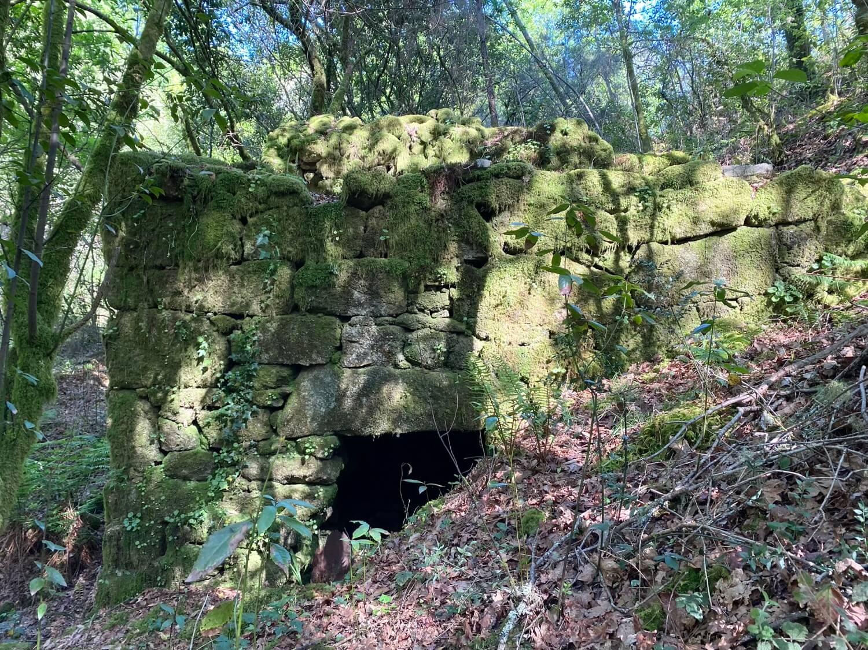 Regueiro e Muíños da Esquipa, Calvelo Guíate Galicia