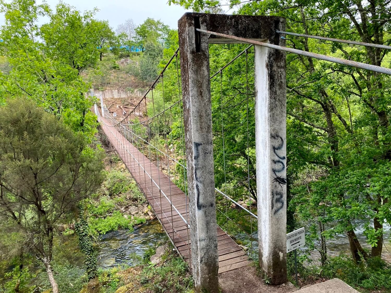 Puente Colgante de Calvelo Guíate Galicia