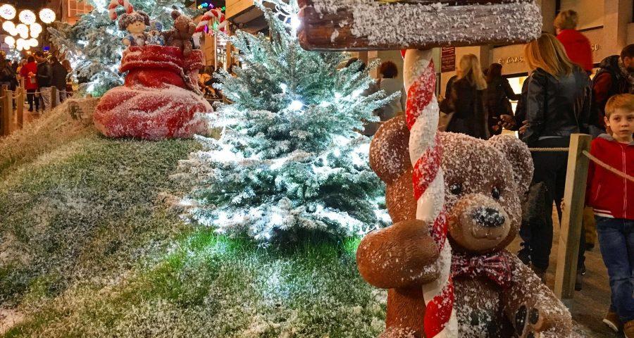 El Alumbrado De Navidad Enciende A Vigo
