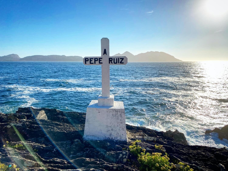 Cruz Punta Robaleira Guíate Galicia