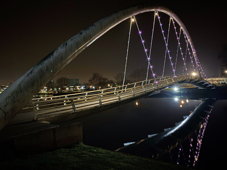 Puentes Iluminados de Pontevedra Guíate Galicia