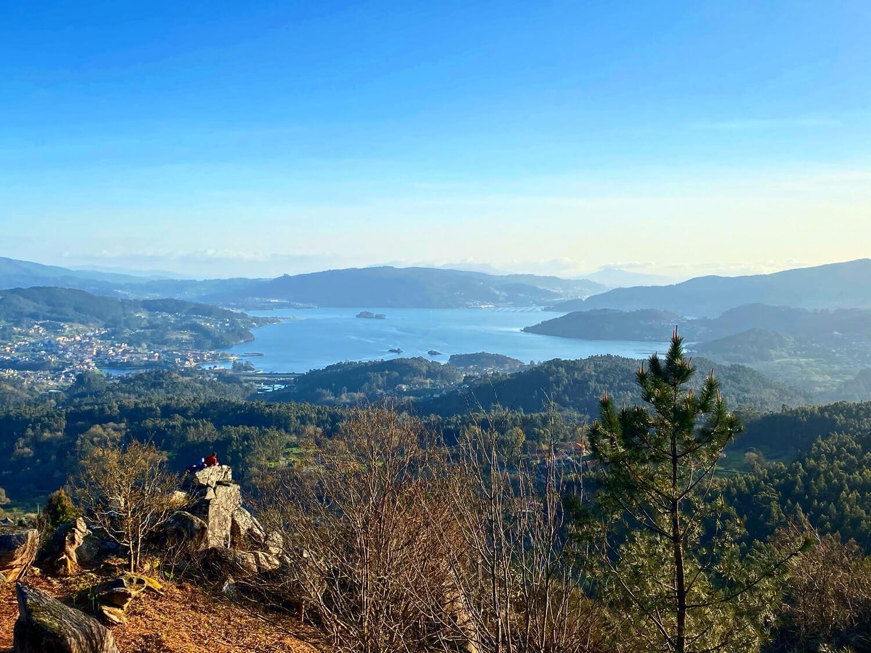 Mirador Couto das Forcadas Parque Forestal da Fracha Guíate Galicia