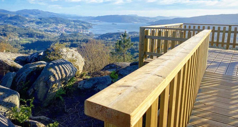 Miradores Parque Forestal Da Fracha Guíate Galicia