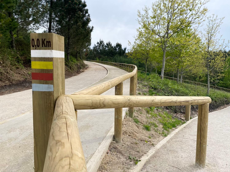Senda y Mirador Outeiro Navío Parque Forestal da Fracha Guíate Galicia